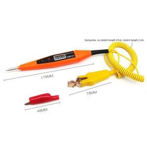 Image 4 - Bolígrafo de prueba de circuito eléctrico para coche, Detector de prueba de voltaje automotriz con pantalla de 2,5 32V, pluma de prueba de sonda de potencia