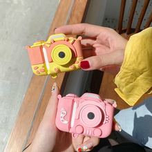 3D Cute Earphone Case For Airpods 2 Case Cartoon Cat Camera for Apple Air pods Case Silicone Bear He
