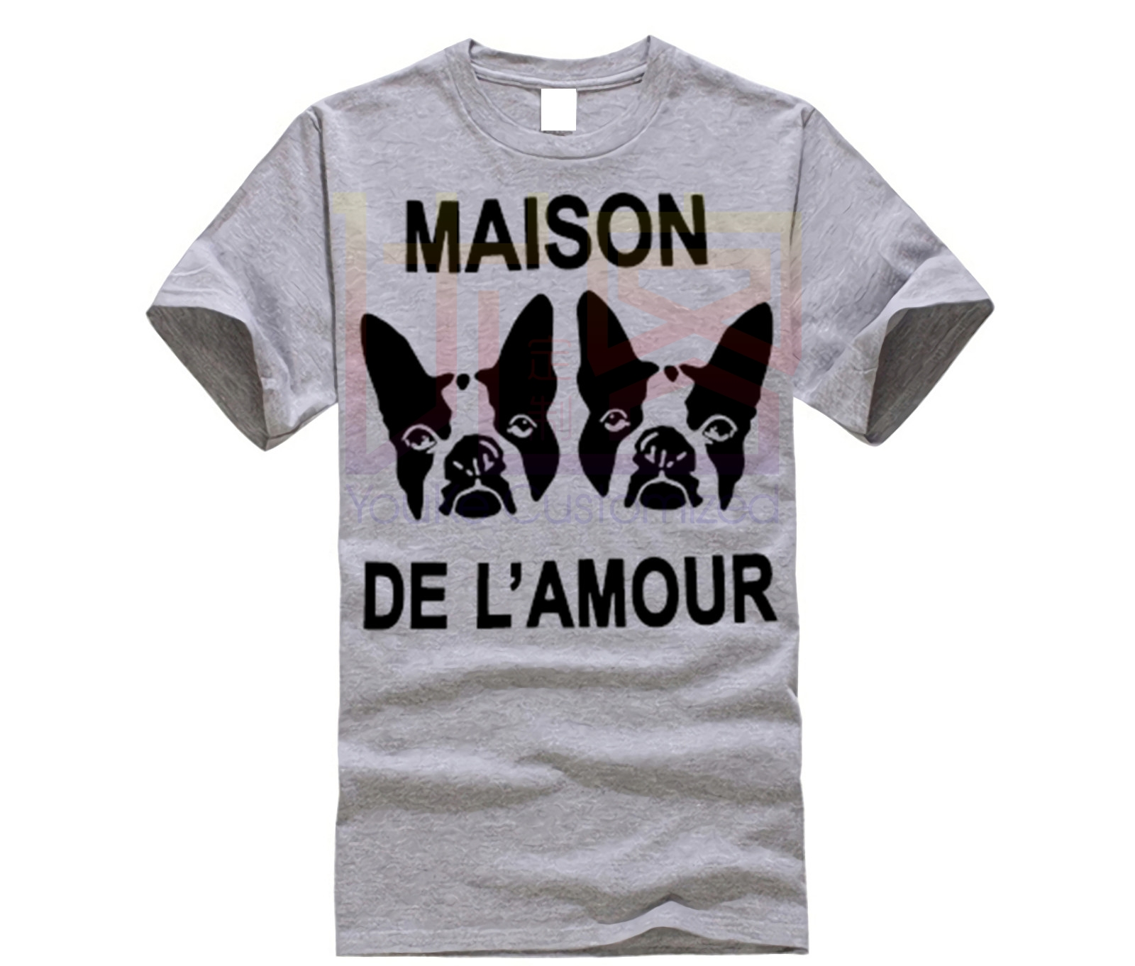 Fashion Design Free Shipping GUCCY Men'S Crew Neck Short-Sleeve Printing Machine MAISON DE LAMOUR T Shirts