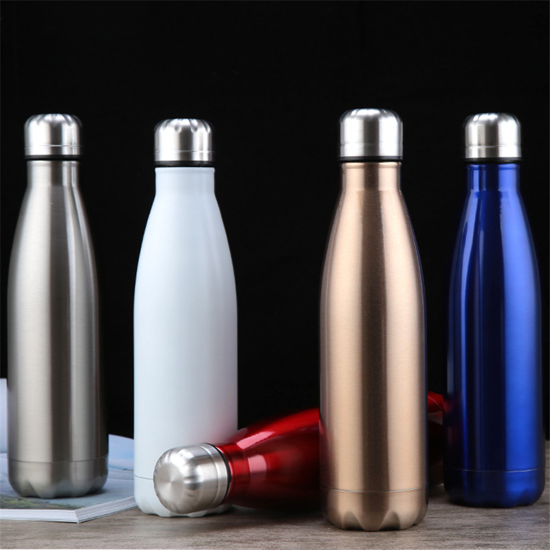 350/500/1000ml Double wall Vacuum Flask Thermos Stainless Steel Water Bottle BPA Free Portable Sport Vacuum Thermos Bottles|Water Bottles| |  - AliExpress