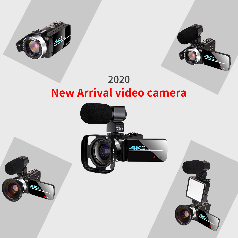Video Camcorder Vlogging For Facebook Remote Control 3.0 Inch Touch Screen Lens Hood Webcam Camera Mini Video Digital Camera