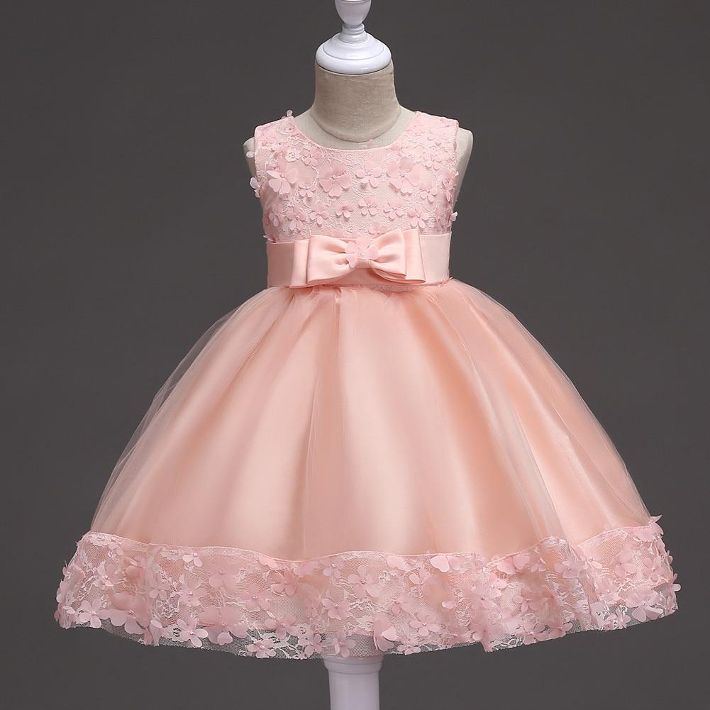 European And American-Style Hot Selling Children's Dress Princess Dress Flower Boys/flower Girls Wedding Veil Tutu Girls Mesh Dr