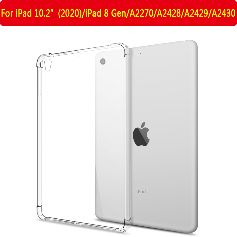 iPad 10.2 2020 8th White Cover For iPad 10 2 inch 7th 8th Gen 2019 2020 A2197 A2200 A2270 Tablet Case