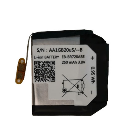 250mAh EB-BR720ABE Battery For Samsung Gear S2 S2 Classic R720 Gear S2 Classic R732 BR720 Smart Watch Batteries
