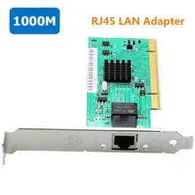 Intel82540 10/100/1000Mbps PCI Diskless network adapter RJ45 Port Lan Card Pci network card for PC TXA011(China)