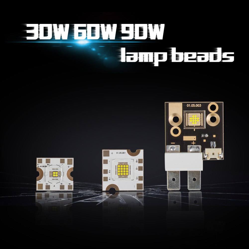 60W/90W LED Chips Gobo 30W For LED Spot 30W Lighting Lighting Accessories SHEHDS Stage Lighting