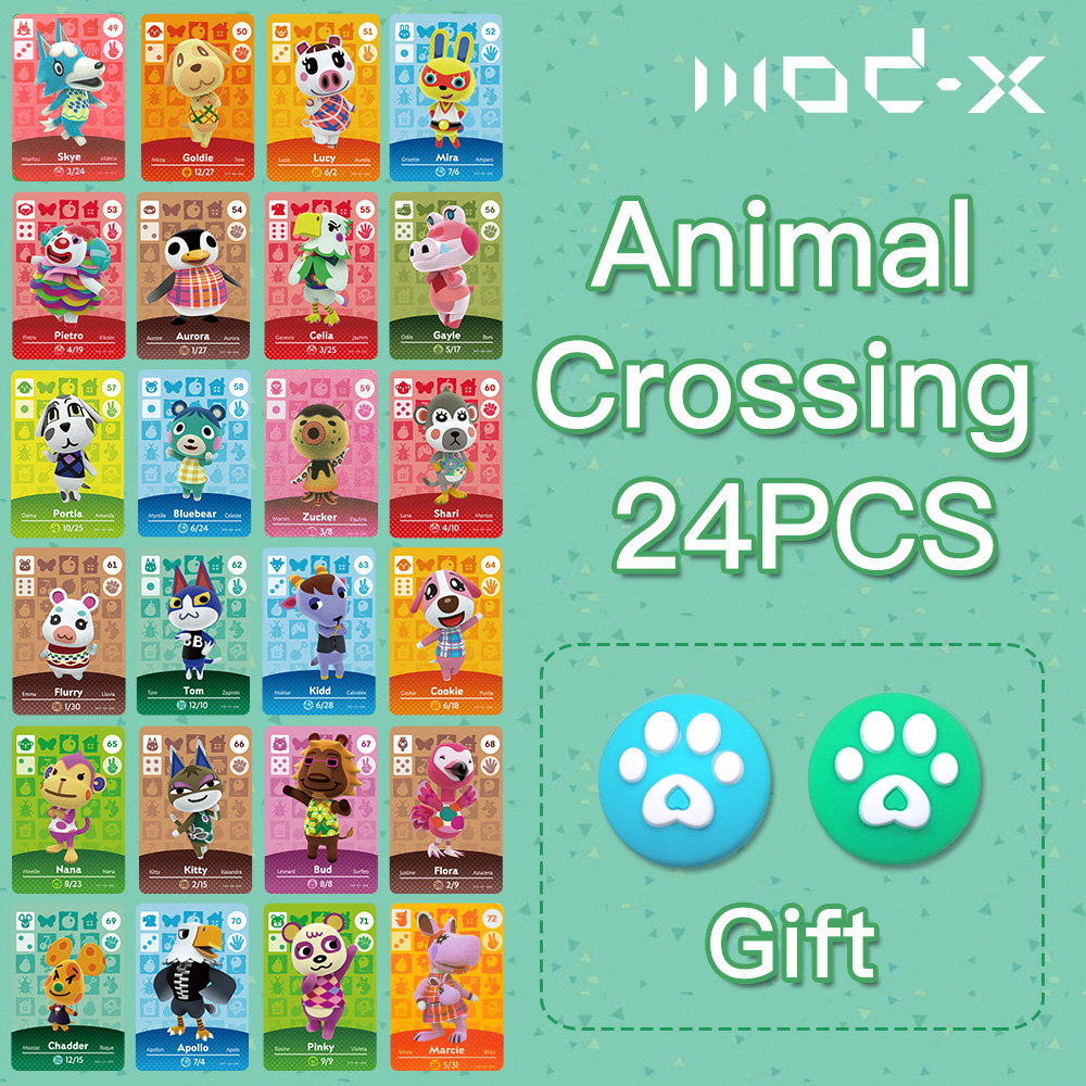 1Pc Mod-X For Animal Crossing Amiibo Card Switch 3DS For Nintendo Switch Amibo Card Animal Crossing New Horizons Welcome NCF