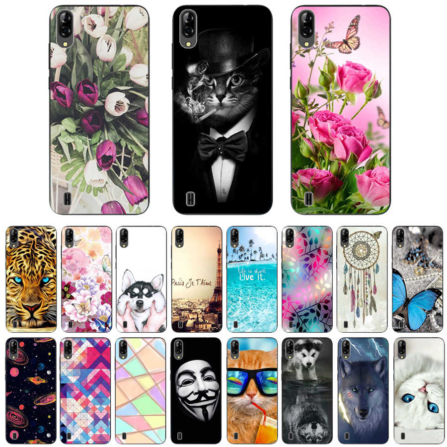 "For Blackview A60 Case 6.1"" Luxury TPU Silicone Cases for Blackview A60 Phone Back Cover for Blackview A 60 Funda Coque"