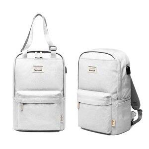 Koreański mody wodoodporny plecak na laptopa 15.6 15 14 13.3 calowy duży plecak kobiet dla Macbook 13 cali dla Xiaomi plecak