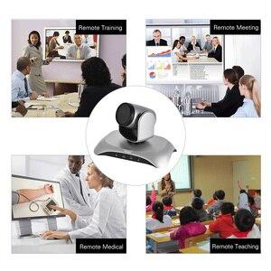 Image 5 - Aibecy caméra de conférence vidéo 1080P FHD USB, Plug Play, balayage automatique à 360 °, avec télécommande à infrarouge