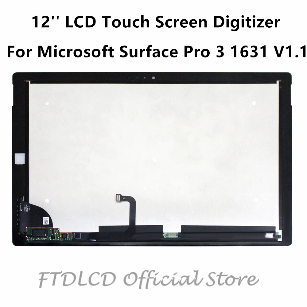 ftdlcd-12-for-microsoft-surface-pro-3-1631-v1-1-lcd-touch-screen-digitizer-replacement-assembly-ltl120ql01-2160x1440