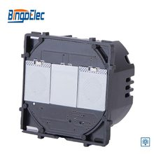 Bingoelec 1 Gang 1 Way Touch Dimmer Switch Function Part, No Glass Panel ,EU/UK Style,Hot Sale