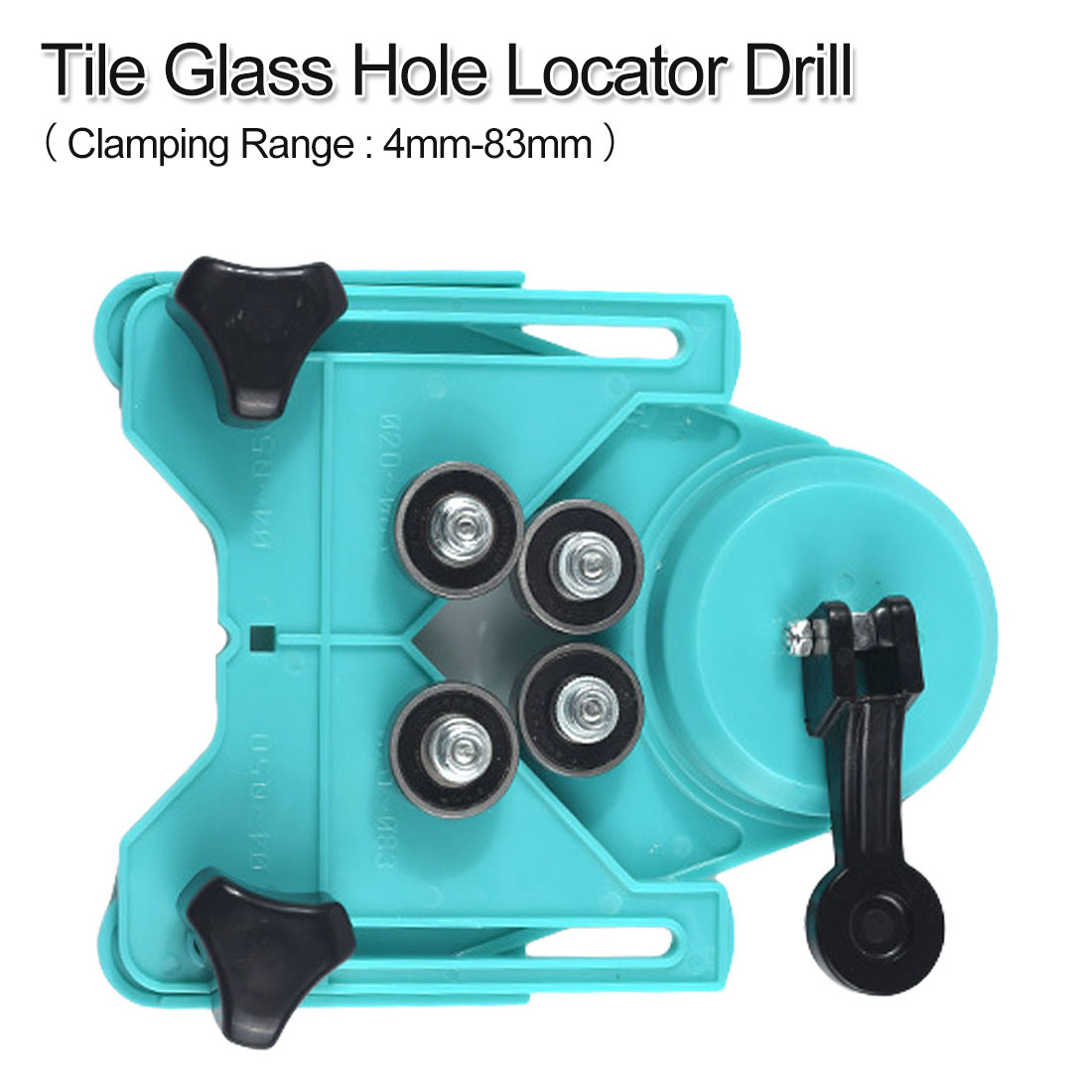 4-83mm Holding Range Diamond Opening Drill Bit Tile Glass Hole Locator Saw Core Bit Guide Chuck Positioner Industrial Puncher