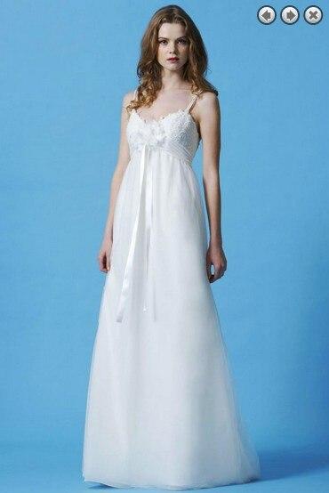 Free Shipping New Fashion 2016 Maxi Dress Lace Sexy Princess Bridal Vestidos Formales White Long Organza Bridesmaid Dresses