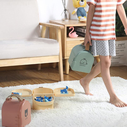 Home Portable Toy Storage Box Sundries Storage Children's Toys Snacks Organize Storage Carrying Children's Toys Outdoor