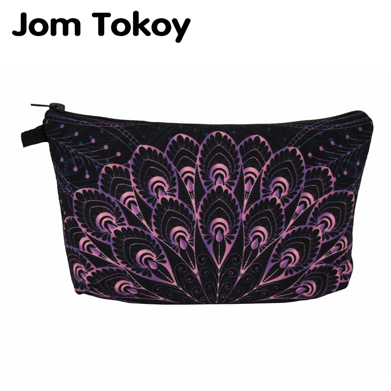 Jom Tokoy Waterproof Cosmetic Organizer Bag Makeup Bag Printing Mandalas Cosmetic Bag Fashion Women Multifunction Beauty Bag 980