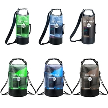 10/20L Waterproof Dry Bag Pack Swimming River Kayaking Floating Backpack Handbag W0YB