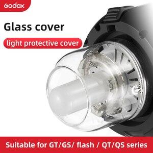 Image 1 - Godox cubierta de vidrio cúpula protectora tapa para Godox QT / QS/GT/serie GS estudio Flash estroboscópico