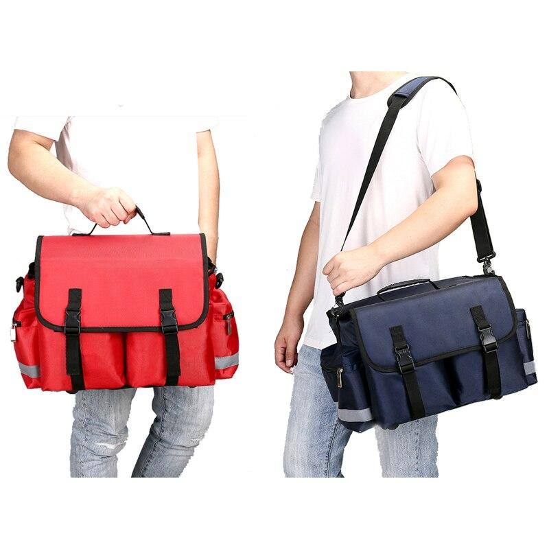 Новая пустая сумка для первой помощи, переносная медицинская сумка для автомобилей, набор для выживания на открытом воздухе для кемпинга, д