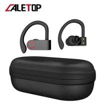 Беспроводные спортивные наушники TWS Bluetooth 5,0 наушники с ушным крюком для бега с шумоподавлением стерео наушники с микрофоном IPX4 водонепроницаемые