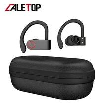 Wireless Sports Headphones TWS Bluetooth 5.0 Earphones Ear Hook Running Noise Cancelling Stereo