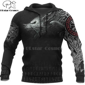 Tracksuit Tattoo Viking Warrior Plstar Cosmos New-Fashion 3d Print Jacket/men's Women