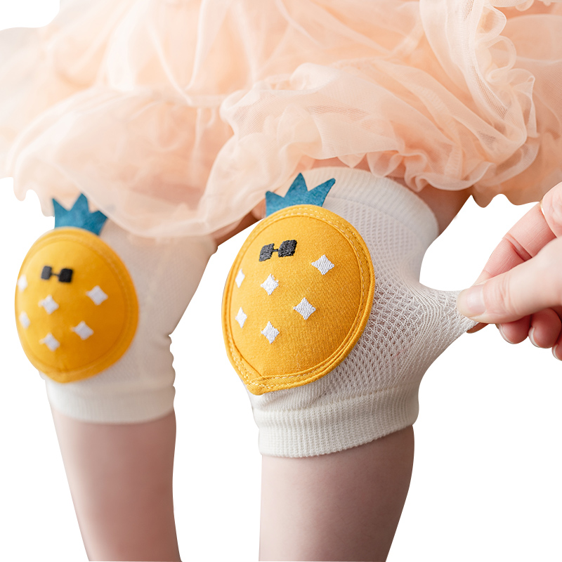 Children Knee Pad Cartoon Cute Protective Baby Leg Cover Knee Pad Learn To Walk Leg Warmers For Boys And Girls