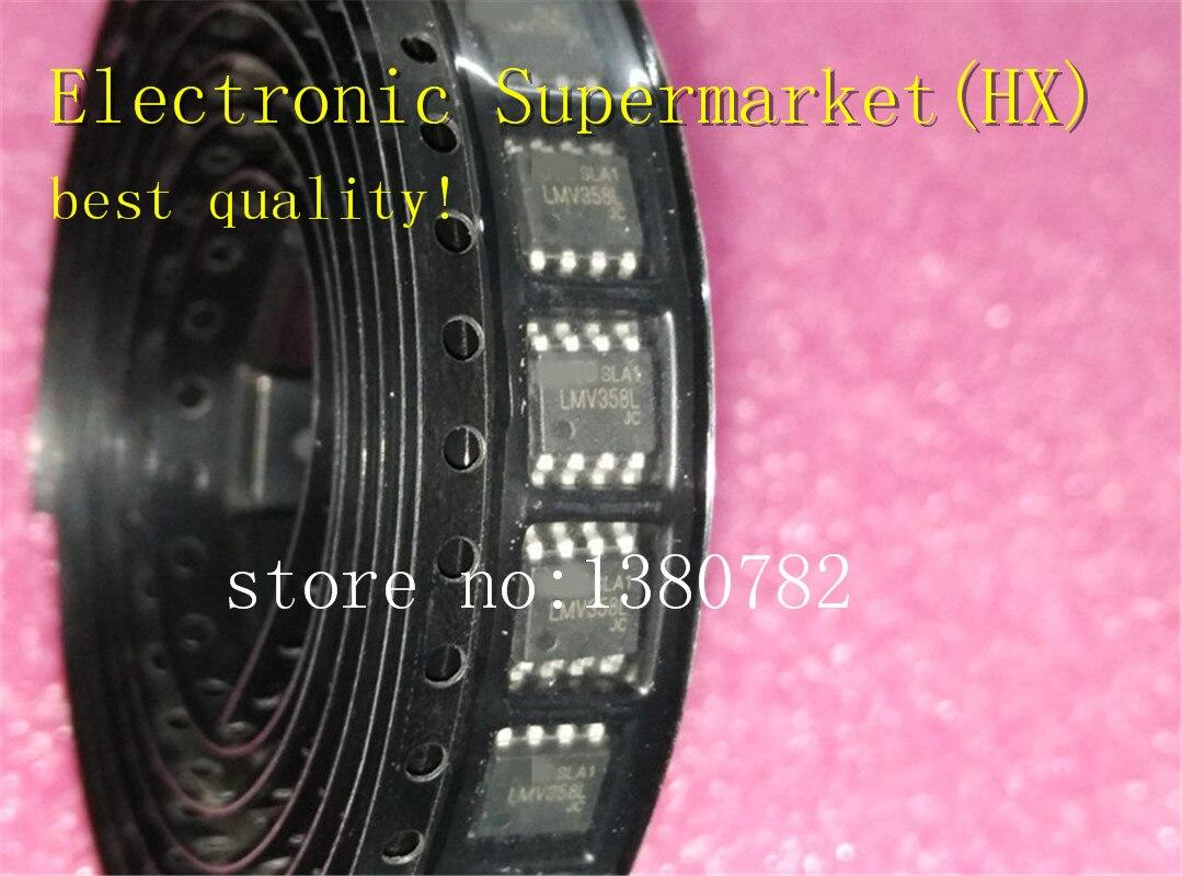 Free Shipping 50pcs/lots LMV358L  LMV358  SOP-8  100%New Original  IC In Stock!