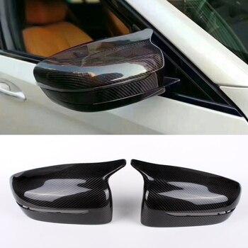 Чехол для зеркала заднего вида, из углеродного волокна, подходит для BMW G30 G38 5-Series 525i 528i 530i