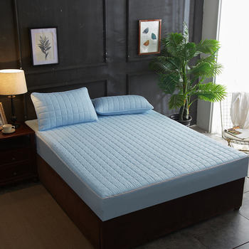 Six-sided All-inclusive Cotton Quilted Cotton Bed Sheet Detachable One-piece Bedspread Cotton Simmons Mattress Cover 1 Pieces