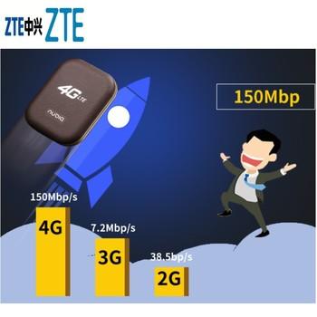 Odblokowany ZTE Nubia WD670 LTE Cat4 mobilny hotspot wifi bezprzewodowy Router 150 mb s 3000mah bateria z gniazdo karty sim PK E5573 E5577 tanie i dobre opinie Zewnętrzny wireless Zdjęcie
