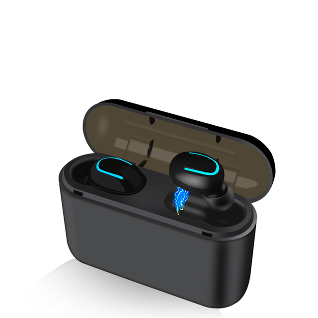 Bluetooth Earphones TWS Wireless Blutooth 5.0 Earphone Handsfree Headphone Sports Earbuds Gaming Headset Phone PK HBQ 2