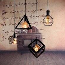 Hanging-Lamp Room-Lamp Retro-Pendant-Lights Loft Industrial-Art Minimalist Vintage Nordic