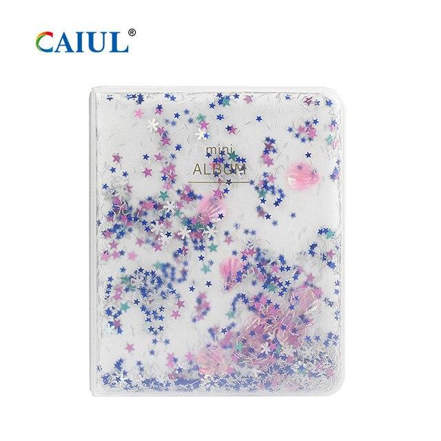 Фото альбом caiul с сыпучим песком для fujifilm instax mini11/9/8 цена