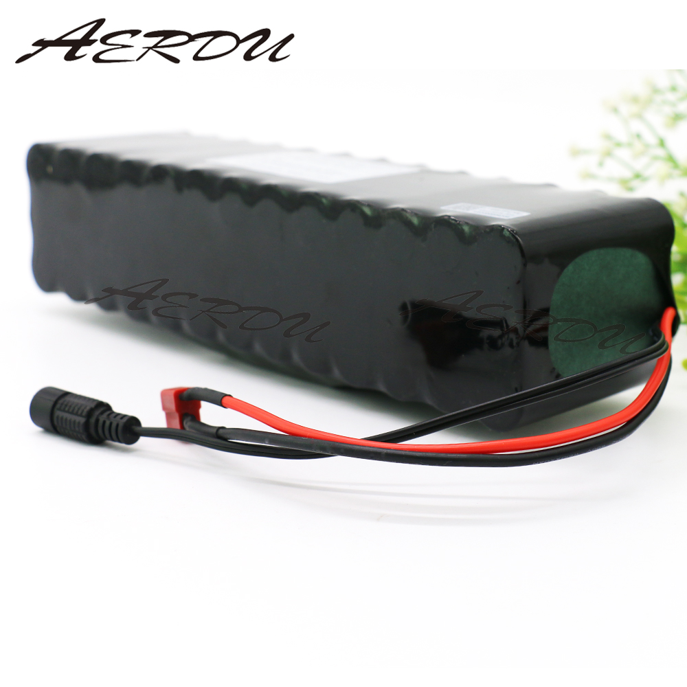 AERDU 13S3P 48V 9 6Ah Lithium ion Battery Pack For MH1 54 6v E bike Electric bicycle Scooter with 20A discharge BMS in Battery Packs from Consumer Electronics