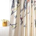 Занавеска s для гостиной столовой спальни бамбуковое дерево вышитая Балконная занавеска цветная жизнь элитное украшение для дома Moodcome