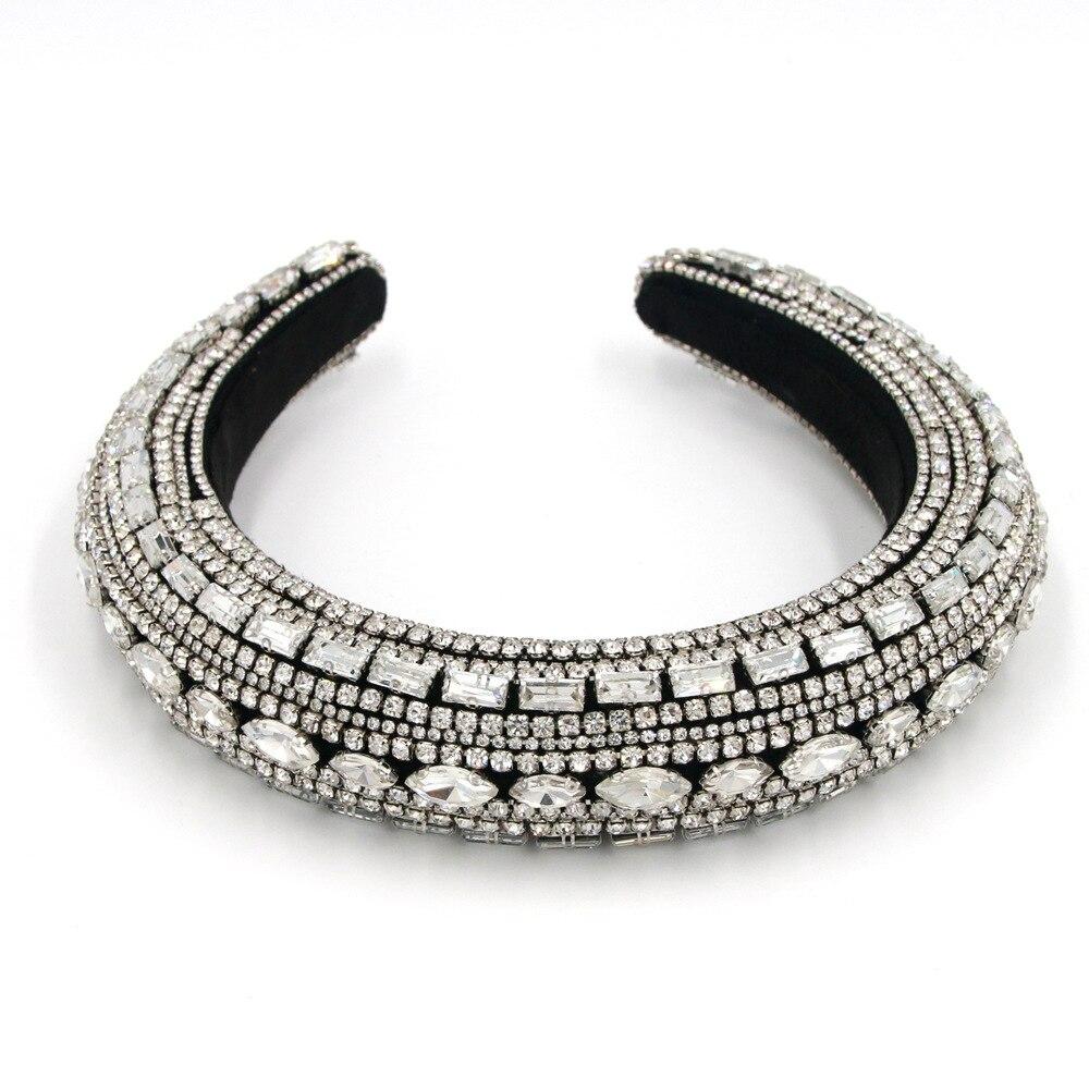 Vielzahl von silber kristall braut tiara crown mode perle königin hochzeit headwear braut frisuren schmuck zubehör großhand