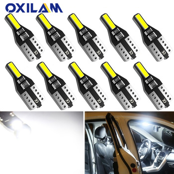 10pcs T10 LED W5W Led Bulb 194 168 Car Interior Bulb Light For BMW 3 5 7 Series E32 E90 E34 E36 E38 E39 E46 E53 E60 E65 E66 E90 image