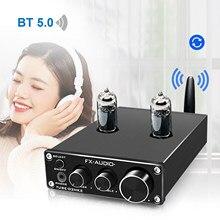 FX-AUDIO TUBE-03MKII Bluetooth 5,0, preamplificador de auriculares, receptor Bluetooth HiFi, ajuste de agudos de graves AUX