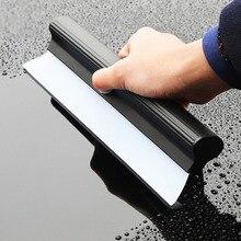 1 tabletes de limpador de pára brisa de lavagem de carro janela de limpeza de vidro t forma auto detalhamento escova rodo lâmina espanadores acessórios 26.5cm