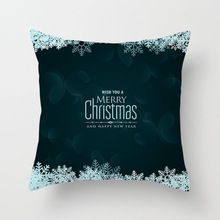 decoration home pillow cover Christmas decoration pillow cover cartoon 3D printing sofa boutique peach pillowcase throw pillows