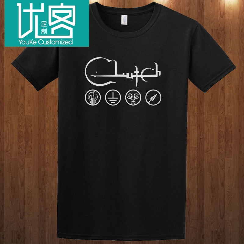Clutch Tee Hard Rock Band Neil Fallon The Bakerton Group S-3XL T-Shirt Summer Novelty Cartoon T Shirt Hot 2019 Fashion image
