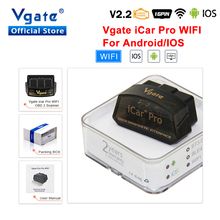 Vgate iCar Pro elm327 WIFI OBD2 Scanner Auto Diagnostic Tool ELM 327 V2.2 Auto Adapter for Android/IOS OBDII Car Scan Tool