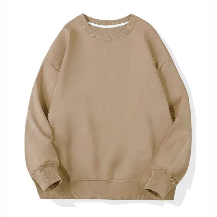 Sweatshirt 1-Khaki