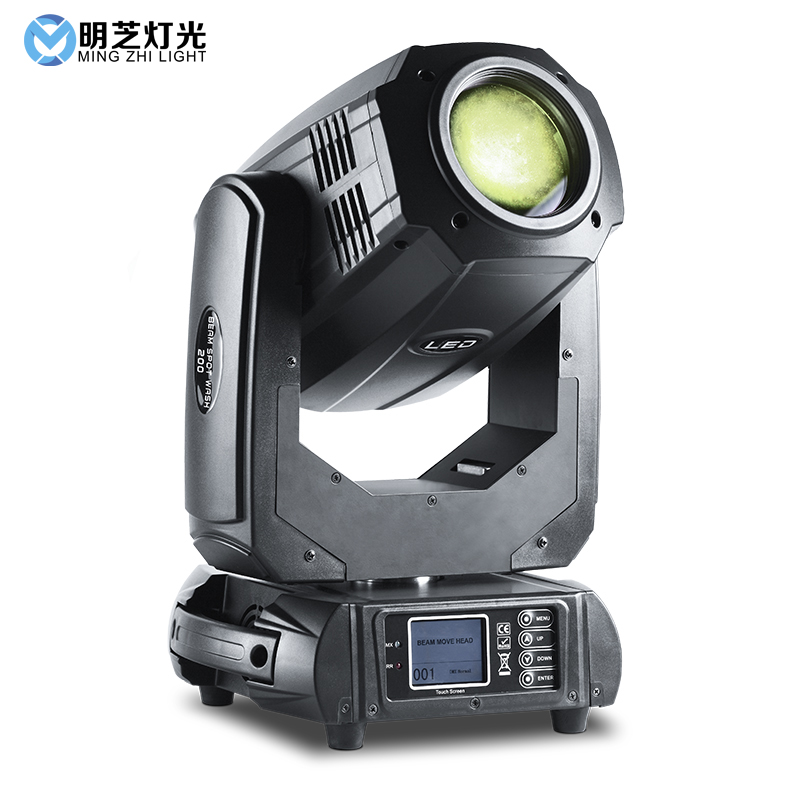 Mingzhi 200W LED Sport Light Moving Head Beam Lights DJ Disco Led Light Cob Light