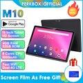 10-дюймовый планшет с восьмиядерным процессором, Android 9,0, ОЗУ 4 Гб, ПЗУ 32 ГБ, 1280x800 IPS, 4G FDD LTE