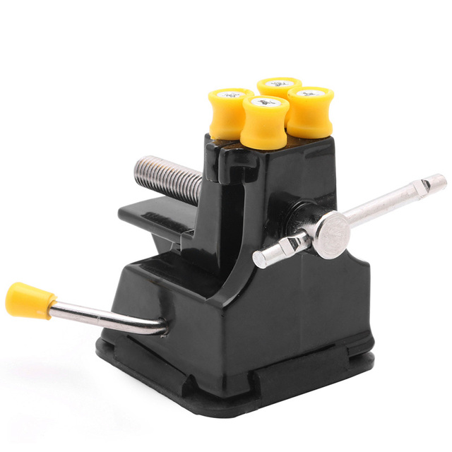 DIY Jewelries Craft Mould Fixed Repair Hand Tool Mini Vice Suction Grip Vise