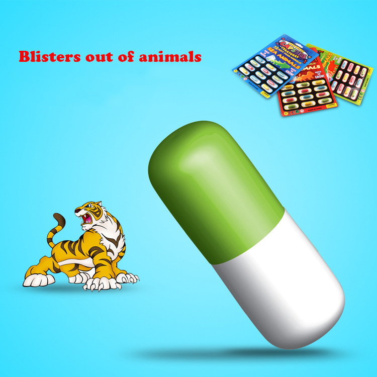 Huilong Soaking Water To Melt Animal Dinosaur Capsule Toys Selling Toys For Children Creative New Exotic Toys Spoof Toy