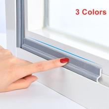 4M-30M Window Sealing Strip Acoustic Foam White for Sliding Door Windows Windproof Soundproof Cotton Seal Door Gap Sound Foam
