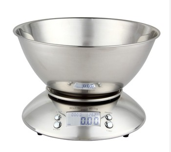 Stainless steel kitchen scale / household kitchen scale electronic kitchen scale